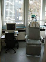 Foto vom EEG-Raum